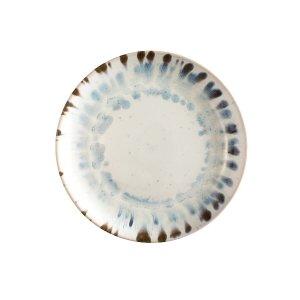 Комплект из 4 тарелок десертных LaRedoute. Цвет: синий