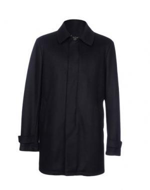 Пальто HERNO. Цвет: темно-синий