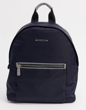 Темно-синий рюкзак из нейлона Sarah Fiorelli