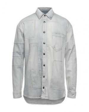 Джинсовая рубашка FAITH CONNEXION. Цвет: синий