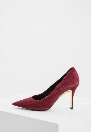 Туфли Furla. Цвет: бордовый