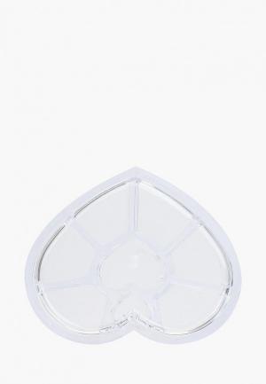 Подставка для инструментов Runail Professional кистей и пилок. Цвет: прозрачный