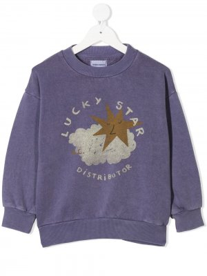 Свитер Lucky Star Bobo Choses. Цвет: серый