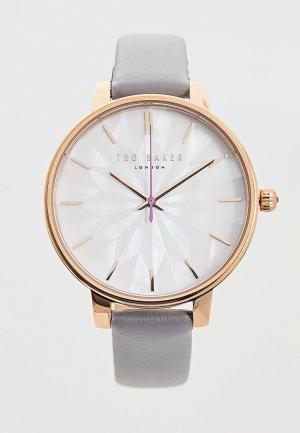 Часы Ted Baker London. Цвет: серый