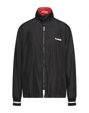 Куртка HUMMEL. Цвет: черный