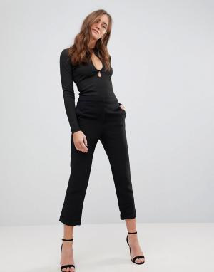 Укороченные брюки Huntr-Черный Finders Keepers