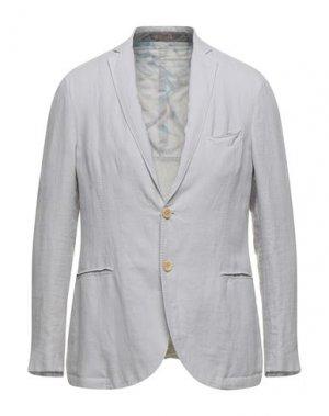 Пиджак FUTURO. Цвет: светло-серый