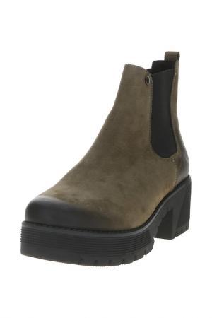 Ботинки Badura. Цвет: зеленый