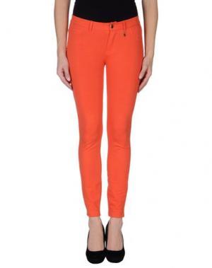Повседневные брюки MET JEANS. Цвет: оранжевый