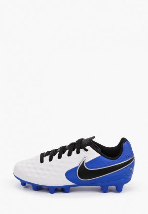 Бутсы Nike JR LEGEND 8 CLUB FG/MG. Цвет: белый