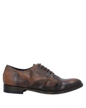 Обувь на шнурках ALEXANDER HOTTO. Цвет: какао