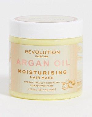 Увлажняющая маска для волос с аргановым маслом Revolution-Бесцветный Revolution Hair