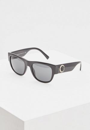 Очки солнцезащитные Versace VE4359 GB1/87. Цвет: черный