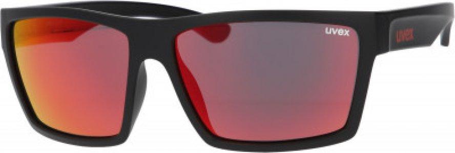 Солнцезащитные очки LGL 29 Uvex. Цвет: красный
