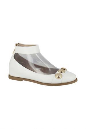 Балетки Just Couture. Цвет: белый