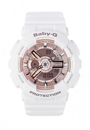 Часы Casio Baby-G BA-110-7A1. Цвет: белый