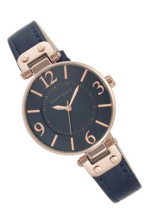 Часы Anne Klein. Цвет: синий, розовый