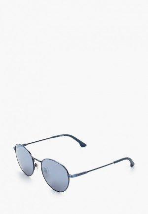 Очки солнцезащитные Police 971-8B6B. Цвет: синий