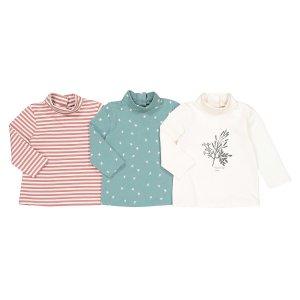 Комплект из 3 футболок с LaRedoute. Цвет: разноцветный