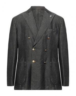 Пиджак BRANDO. Цвет: свинцово-серый