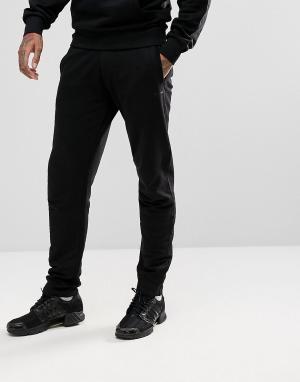 Черные джоггеры с логотипом Gio Goi. Цвет: черный