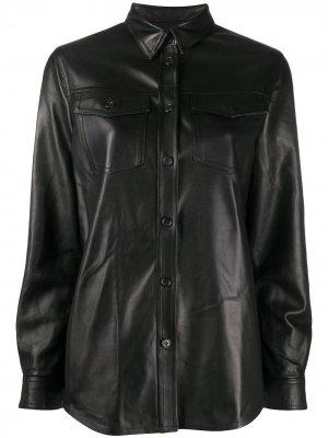 Куртка-рубашка Stewart. Цвет: черный