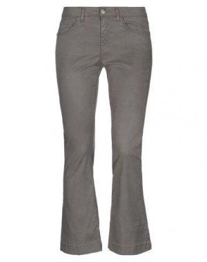 Повседневные брюки KAOS JEANS. Цвет: хаки