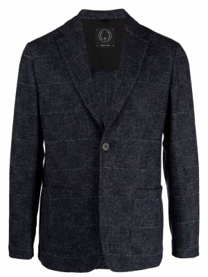 Однобортный пиджак Tonello. Цвет: синий