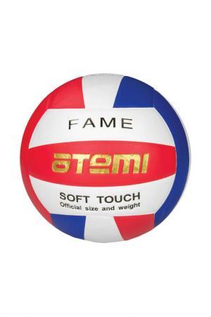 Мяч волейбольный FAME Atemi. Цвет: красно-синий