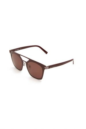 Очки солнцезащитные Karl Lagerfeld. Цвет: 524 бордовый