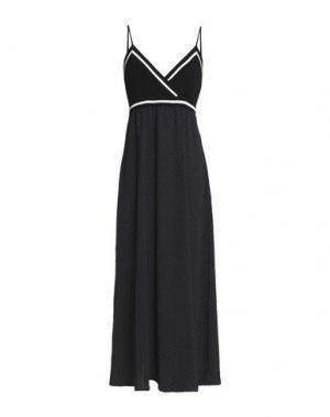 Платье длиной 3/4 BAILEY 44. Цвет: черный