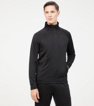 Олимпийка мужская , размер 48 Demix. Цвет: черный