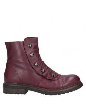 Полусапоги и высокие ботинки FORMENTINI. Цвет: пурпурный