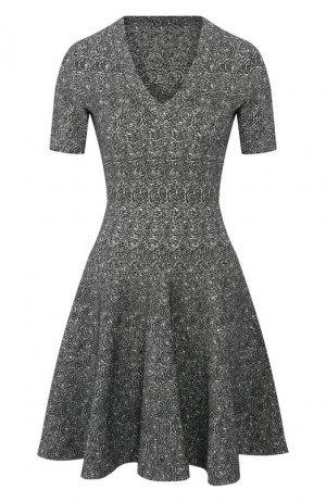 Платье Alaia. Цвет: зелёный