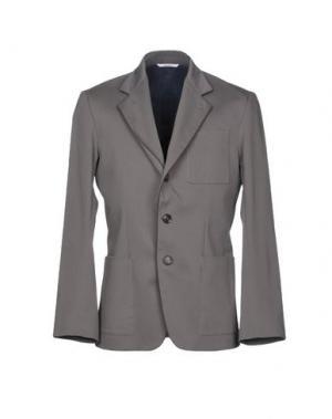 Пиджак UMIT BENAN. Цвет: свинцово-серый