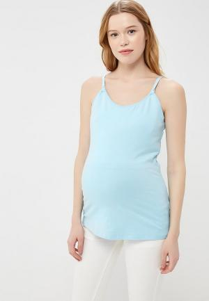Топ Gap Maternity. Цвет: голубой