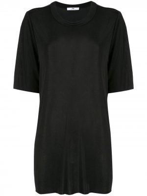 Удлиненная футболка Eliza CAMILLA AND MARC. Цвет: черный