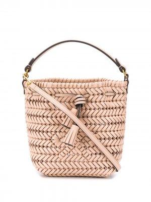 Маленькая сумка-ведро Neeson Anya Hindmarch. Цвет: нейтральные цвета