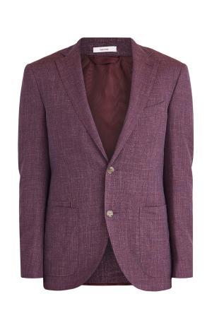 Пиджак LUCIANO BARBERA. Цвет: бордовый