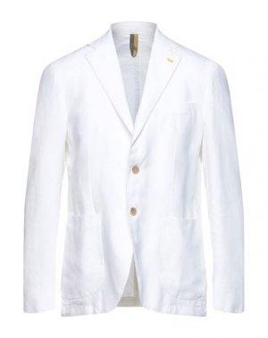 Пиджак HARMONT&BLAINE. Цвет: белый