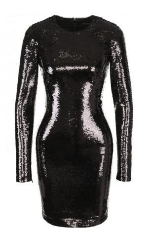 Платье с пайетками Tom Ford. Цвет: чёрный