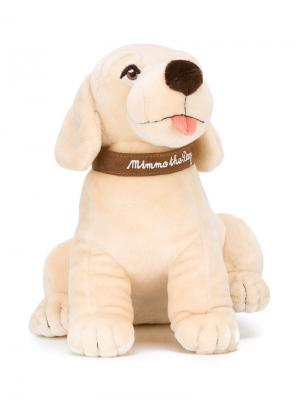 Мягкая игрушка собака Mimmo Dolce & Gabbana Kids. Цвет: нейтральные цвета