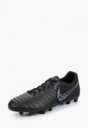 Бутсы Nike Tiempo Legend VII Club MG. Цвет: черный