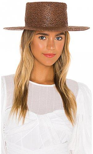 Шляпа whitney Brixton. Цвет: коричневый