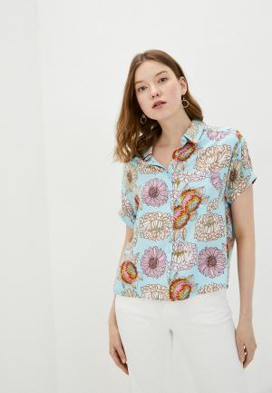 Блуза Compania Fantastica. Цвет: голубой