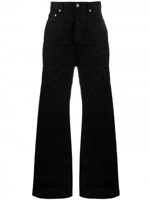 Широкие джинсы Geth Rick Owens. Цвет: черный