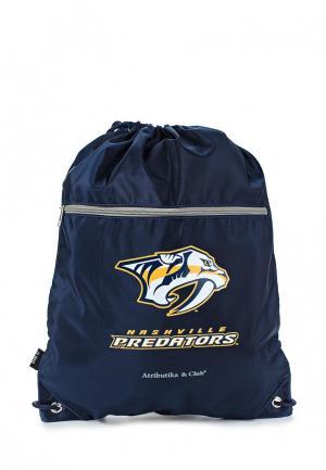 Мешок Atributika & Club™ NHL Nashville Predators. Цвет: синий