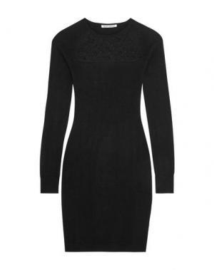Короткое платье AUTUMN CASHMERE. Цвет: черный