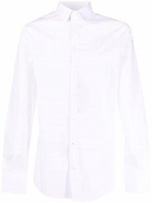 Рубашка с длинными рукавами Dolce & Gabbana. Цвет: белый