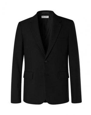 Пиджак SAINT LAURENT. Цвет: черный